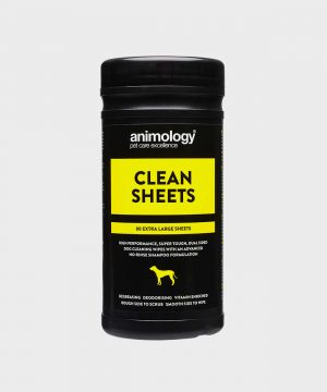 Animology Extra Large Super Premium Dog Wipes - 80 Pack