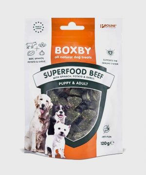 Boxby - Superfood Beef, Spinach & Garlic