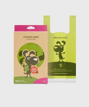 Earth Rated - 120 Easy-Tie Handle Poo Bags