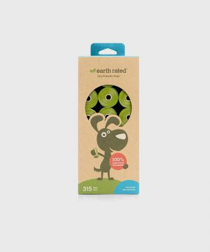 Earth Rated - 315 Poo Bags on 21 Refill Rolls