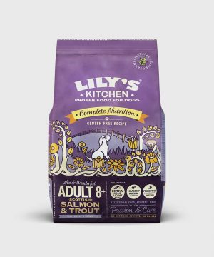 Lily's Kitchen Salmon and Trout Dry Food for Senior Dogs