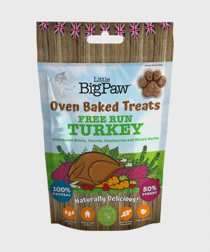 Little BigPaw Free Run Oven Baked Turkey Treats