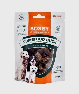 Boxby Superfood Duck, Pea & Cranberry