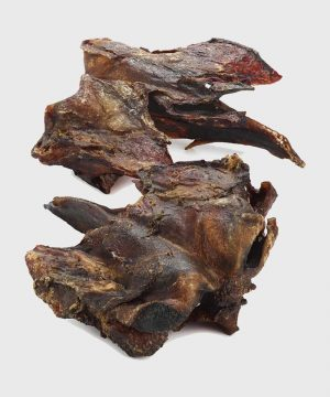 Natural Dried Chews - Beef Throat Heads