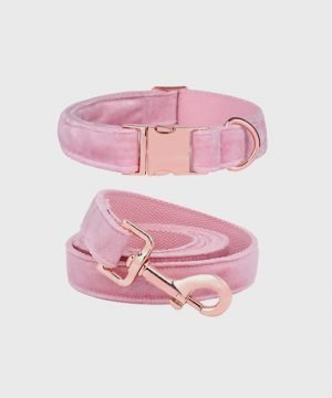 'Velveteen Dream' Collar in Blush - Winter Collection