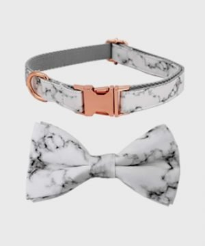 'Marble Rose' Collar - Winter Collection
