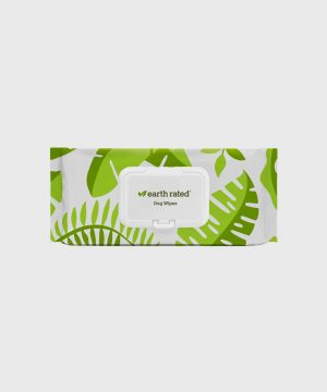 Earth Rated - 100 Compostable Grooming Wipes