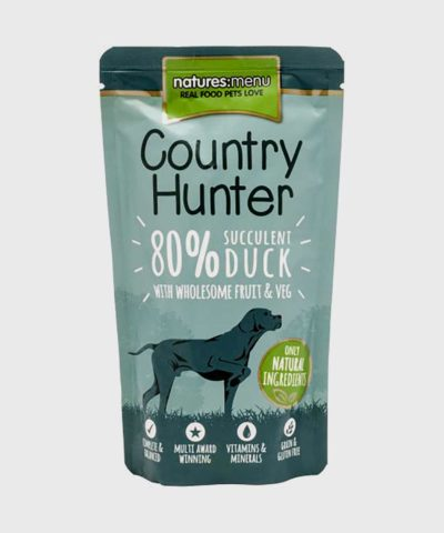 Country Hunter Pouches Duck Wet Dog Food