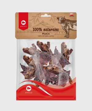 Maced 100% Natural Beef Lungs Dog Treats