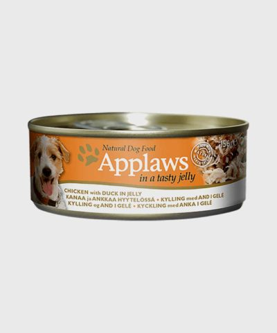 Applaws Tin Chicken & Duck in Jelly Wet Dog Food