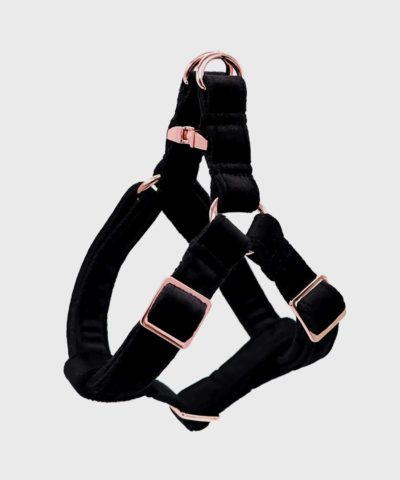 Velveteen Dream Dog Harness in Obsidian Winter Collection