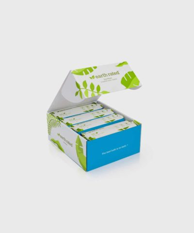 Earth Rated 400 Compostable Grooming Dog Wipes