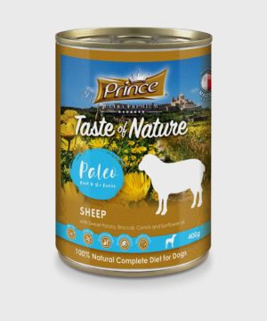 Prince Premium Cans Sheep Wet Dog Food