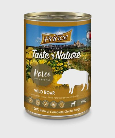 Prince Premium Cans Wild Boar Wet Dog Food