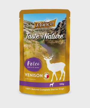 Prince Premium Pouches Venison with Ostrich and Cottage Cheese