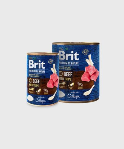 Brit Premium Cans Beef With Tripe Wet Dog Food