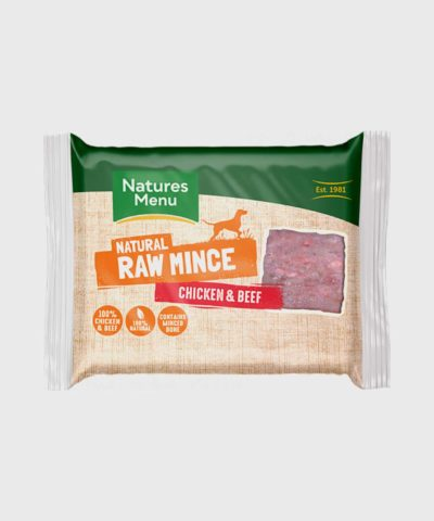 Nature's Menu Just Chicken & Beef Mince Raw Dog Food