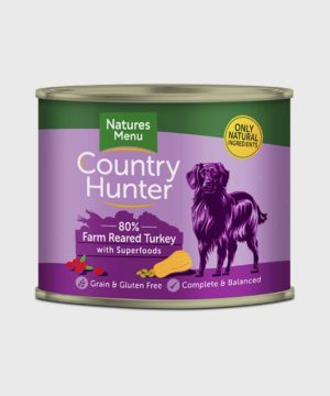 Country Hunter Cans Turkey Wet Dog Food