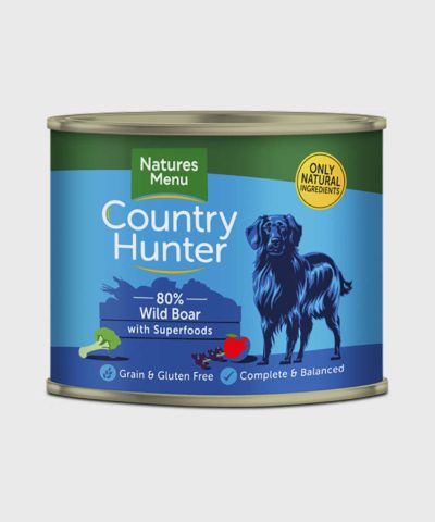 Country Hunter Cans Wild Boar Wet Dog Food