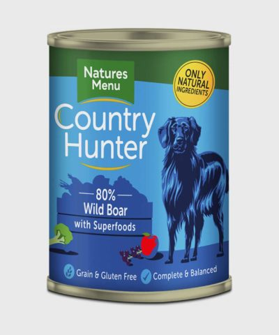Country Hunter Cans Wild Boar 400g Wet Dog Food
