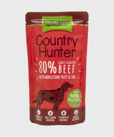 Country Hunter Pouches Beef Wet Dog Food