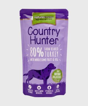Country Hunter Pouches Turkey Wet Dog Food