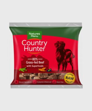 Country Hunter Raw Nuggets Grass-Fed Beef