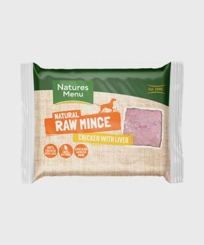 Nature's Menu Just Chicken & Liver Mince Raw Dog Food