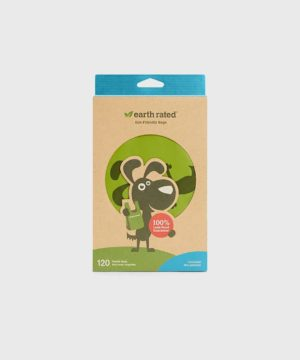 Earth Rated 120 Easy-Tie Handle Poo Bags