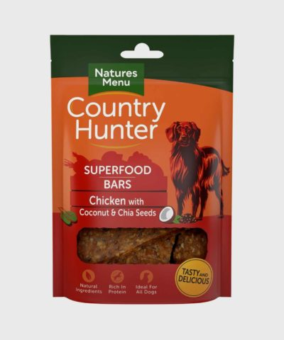 Country Hunter Superfood Bars Chicken Dog Treats