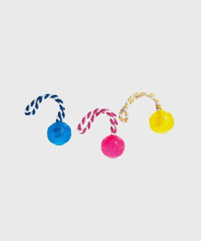 Karlie Flamingo TPR Ball with Rope