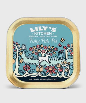 Lily's Kitchen Fishy Fish Pie with Peas 150g