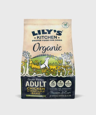 Lily's Kitchen Organic Chicken & Vegetable Dry Dog Food