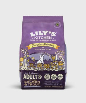 Lily's Kitchen Salmon and Trout Dry Senior Dog Food
