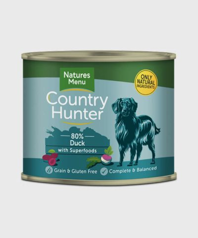 Country Hunter Cans Duck Wet Dog Food