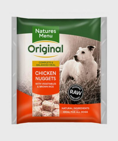 Natures Menu Meals Chicken Nuggets Raw Dog Food