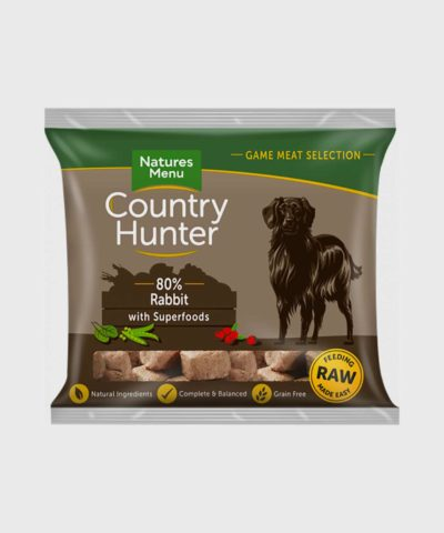 Country Hunter Raw Nuggets Full-Flavoured Rabbit