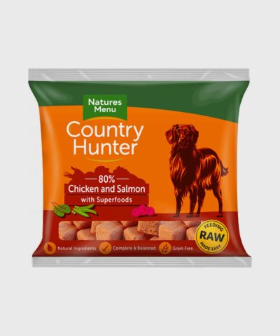 Country Hunter Raw Nuggets Chicken & Salmon