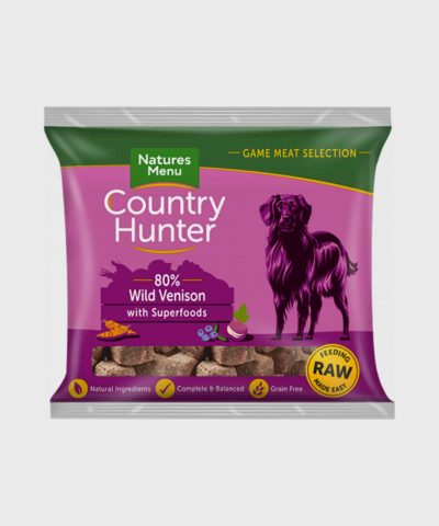 Country Hunter Raw Nuggets Wild Venison