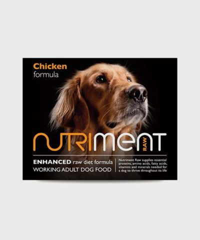 Nutriment Chicken Adult Raw Dog Food