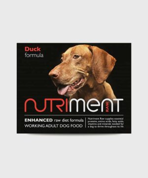 Nutriment Duck Adult Raw Dog Food