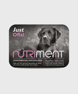 Nutriment Just Offal Raw Dog Food