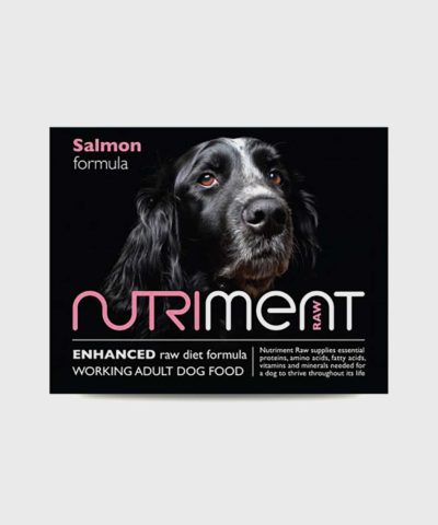 Nutriment Salmon & Chicken Adult Raw Dog Food