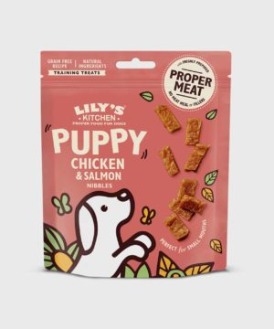 Lily's Kitchen Puppy Chicken and Salmon Nibbles