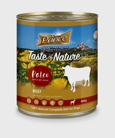 Prince Premium Cans Beef Wet Dog Food