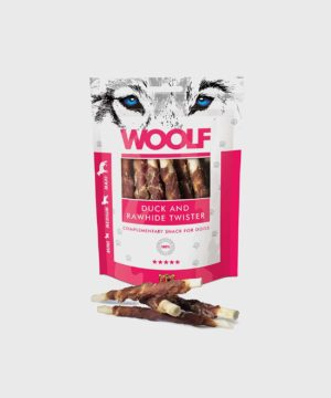 Woolf Treats - Duck and Rawhide Twister