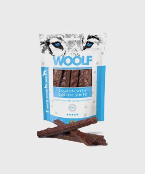 Woolf Treats - Salmon with Carrot Strips