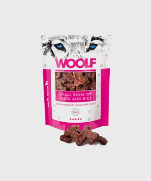 Woolf Treats - Small Bone of Duck and Rice