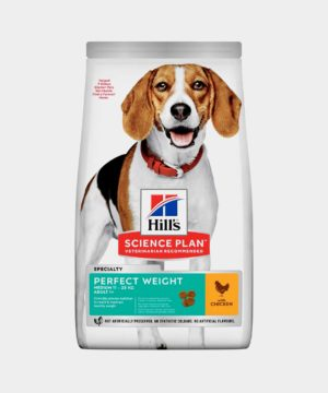 Hill's Science Plan | Perfect Weight Medium Adult Dog Food with Chicken