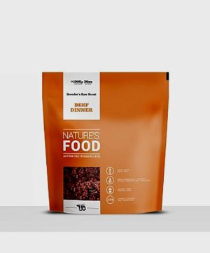Nature's Food | Beef Dinner Breeder's Raw Boost (1kg)